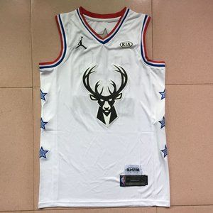 Giannis Antetokounmpo All star&Milwaukee Bucks Je